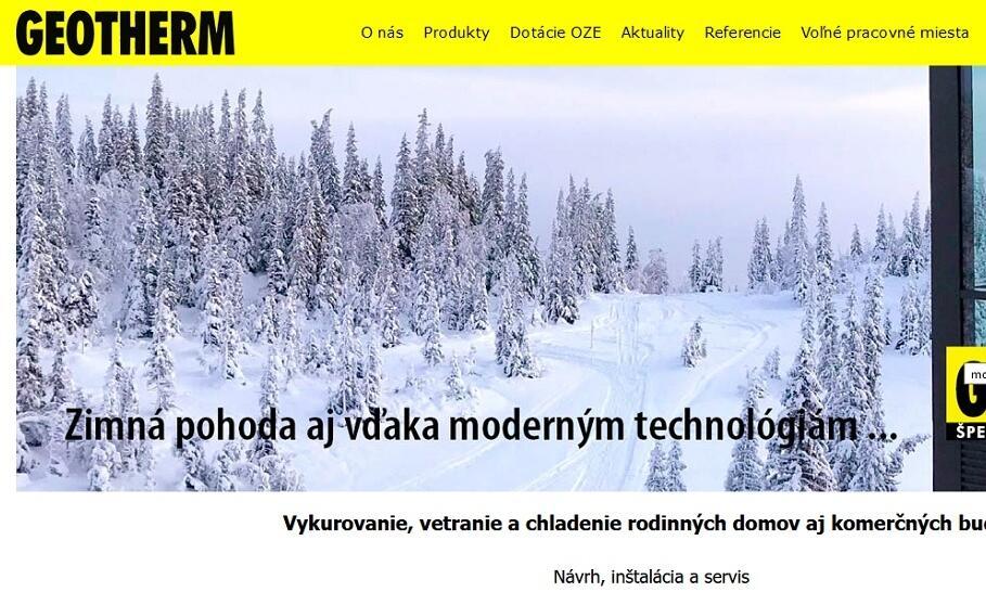 S GEOTHERM Slovakia s. r. o. je vykurovanie hračkou – vyberte si plynový kotol alebo tepelné čerpadlo