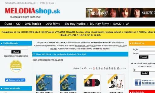MELODIAshop.sk: SA-CD s prvotriednym zvukovým komfortom