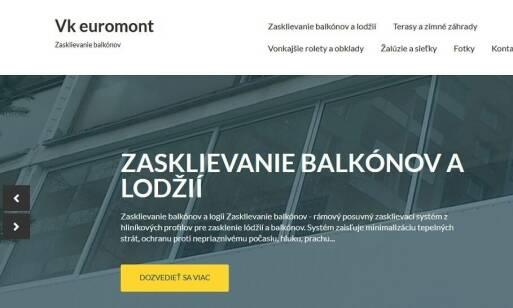V.K. Euromont – zasklievanie balkónov, ktoré sa vyplatí