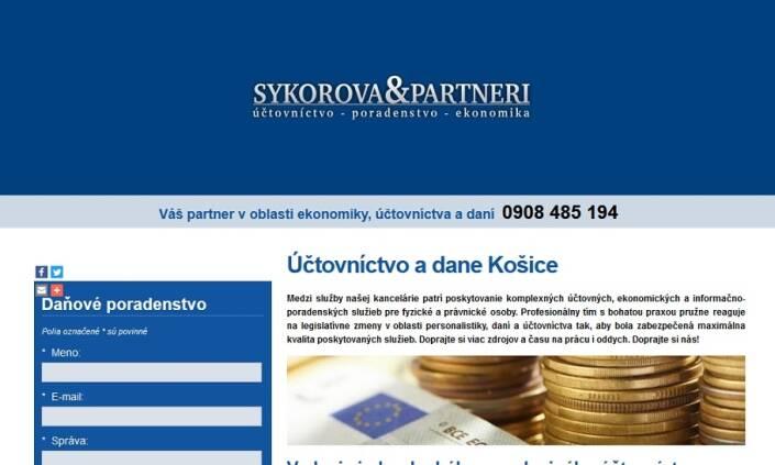 SÝKOROVÁ & PARTNERI - účtovníctvo s poradenstvom